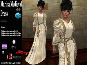 Marina Medieval Gown