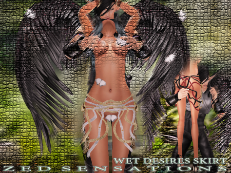 wet desires skirt ad